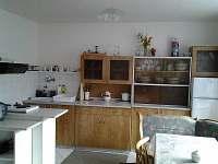 kuchyň - pronájem chalupy Měděnec