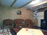 obývací pokoj (posezení) - chata k pronájmu Abertamy - Vršek
