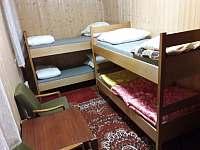 pokoj (s palandami, 4 postele) - pronájem chaty Abertamy - Vršek