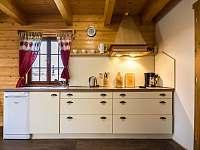 Kuchyňská linka - chalupa ubytování Háj u Jindřichovic