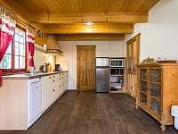 Kuchyňský kout - chalupa k pronajmutí Háj u Jindřichovic