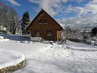 Zima - chalupa k pronajmutí Háj u Jindřichovic