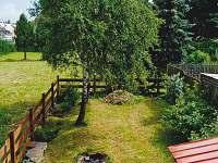 zahrada - chalupa k pronájmu Měděnec
