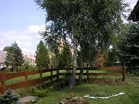 zahrada - chalupa k pronajmutí Měděnec