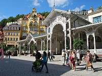 blízké Karlovy Vary  - Tržní kolonáda