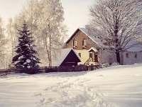ubytování Doupovské hory na chalupě k pronájmu - Krásný Les