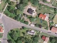 Mapa - rekreační dům k pronajmutí Tisá