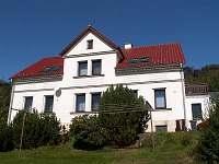Pohled ze zahrady - rekreační dům ubytování Tisá