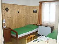 2 lůžkový pokoj - chata ubytování Mariánská