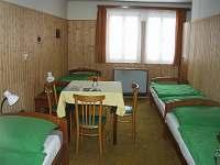 4 lůžkový pokoj - chata k pronajmutí Mariánská