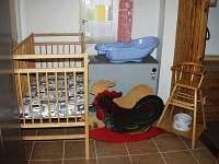 něco pro rodiny s dětmi - chata k pronajmutí Mariánská