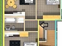 Apartmán č. 4 - Abertamy