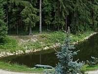 rybářská chata s rybníkem za příplatek