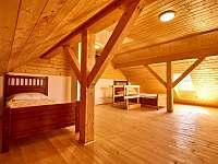 Malý apartmán - ložnice 2 - pronájem chalupy Abertamy