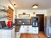 Velký apartmán - kuchyně - chalupa ubytování Abertamy