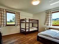 Velký apartmán - Ložnice 1 - chalupa k pronajmutí Abertamy
