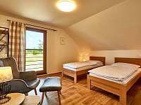 Velký apartmán - Ložnice 2 - pronájem chalupy Abertamy