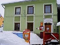Vchod do restaurace - Horní Blatná