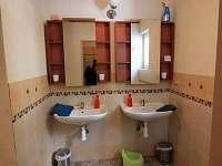 Koupelna v přízemí - Abertamy