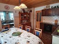 Kuchyně - chalupa k pronajmutí Abertamy