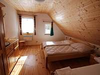 Pokoj 1. v podkroví - chalupa k pronajmutí Abertamy