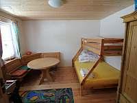 Pokoj v přízemí - chalupa ubytování Abertamy