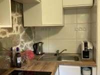 Kuchyň - chata ubytování Oldřiš