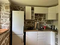 Kuchyň - chata k pronajmutí Oldřiš