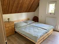 Ložnice - pronájem chaty Oldřiš