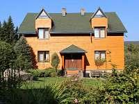 Dům - čelní pohled - chalupa ubytování Šindelová