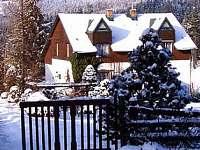 Modrinka v zime2 - pronájem chalupy Šindelová