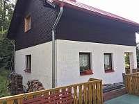 Chata Zvonek - Pohled z terasy - k pronájmu Lípa