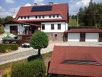 ubytování v Doupovských horách Chata k pronajmutí - Hřebečná