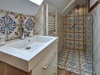 Koupelna v patře - Abertamy