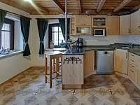 Kuchyň - chalupa ubytování Abertamy