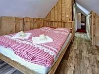 Malá ložnice - pronájem chalupy Abertamy