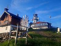 Restaurace,rozhledna s úchvatným výhlede na Abertamy - Plešivec 1,5km -