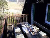 snídaně s výhledem na Klínovec chalupa 1 - k pronajmutí Loučná pod Klínovcem - Háj