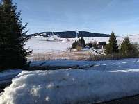 výhled z chaty