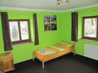 1. zelený pokoj - rekreační dům k pronájmu Merklín