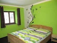 2. zelený pokoj - rekreační dům ubytování Merklín