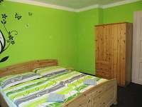 2.zelený pokoj - rekreační dům k pronájmu Merklín
