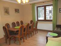 obývací pokoj - jídelna - Merklín