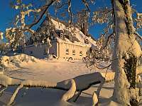ubytování na samotě v Krušných horách