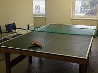 stolní tenis - chalupa k pronajmutí Pernink
