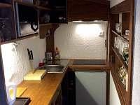 kuchyn - chata k pronajmutí Horní Halže