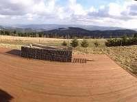 Výhled na jaře - chata k pronajmutí Horní Halže