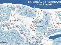 ski areál - Český Jiřetín