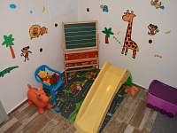 dětský koutek - chata k pronájmu Bublava