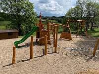 Dětské hřiště - ubytování Kovářská